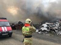 В Норильске произошел пожар на полигоне промышленных отходов. Прокуратура начала проверку